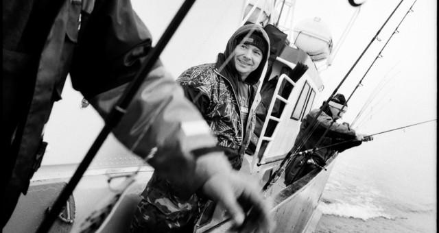 Fischen auf der Ostsee